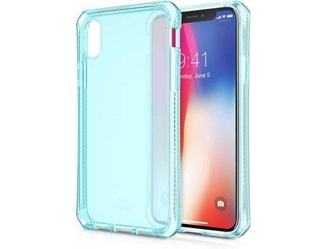 Capa ITSKINS Spectrum iPhone X Azul — Compatibilidade: iPhone X