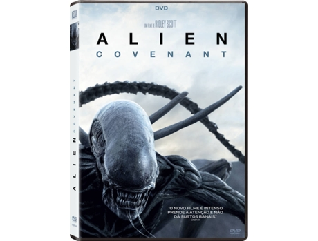 DVD Alien: Covenant — Terror/Suspense