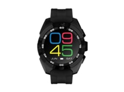 Smartwatch NO.1 G5 Preto — Android e iOS / 380 mAh