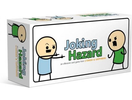 Breaking Games - Jogo de Tabuleiro BREAKING GAMES JOKING HAZARD (Inglês - Idade Mínima: 18)
