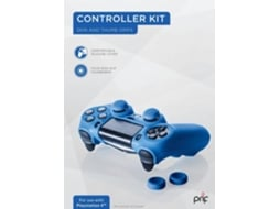 Kit para Comando PS4 PRIF (Capa de Silicone + 4 Thumbsticks) — PS4