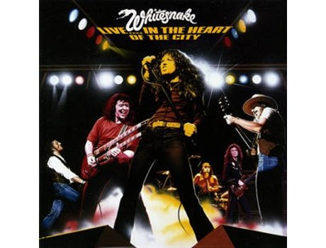 CD Whitesnake - Live... In The Heart Of The City — Pop-Rock