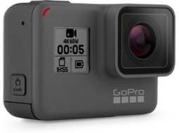 Action Cam GOPRO Hero 6 Preto — 4K / Wi-Fi /  Bluetooth