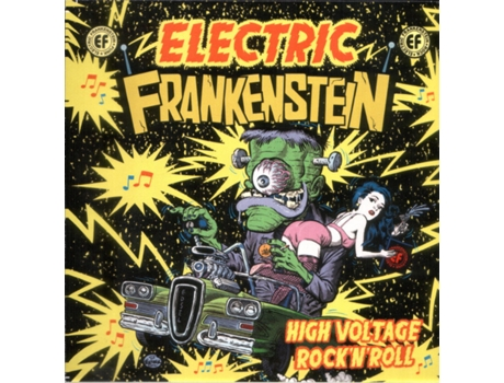 CD Electric Frankenstein - High Voltage Rock 'N 'Roll