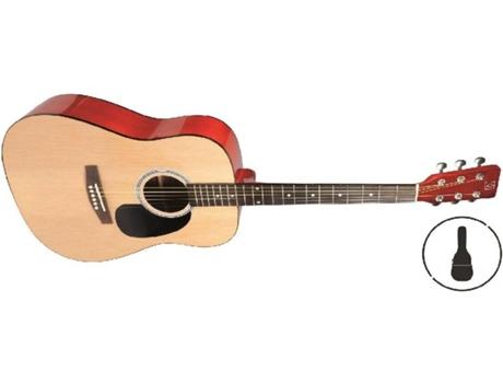 OQAN - Guitarra Clássica OQAN QGA-16 GB Nat (20 Trastes - Corpo: Madeira de Tília)
