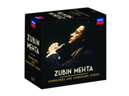 CD Zubin Mehta - Symphonies And Symphonic Poems — Clássica