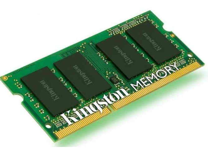 Memória RAM SODIMM KINGSTON 4GB DDR3 1600 MHz CL11 — 4 GB / 1600 MHz / DDR3