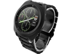 Smartwatch NO.1 G6 Preto — Bluetooth 4.0 | 380 mAh | Android e iOS