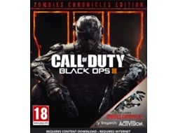 Jogo Xbox One Call Of Duty 3 + Zombie Chronicles — FPS |  Idade mínima recomendada: 18