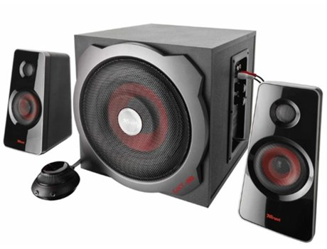 Colunas 2.1 TRUST GXT 38 Subwoofer Speak — 120 W