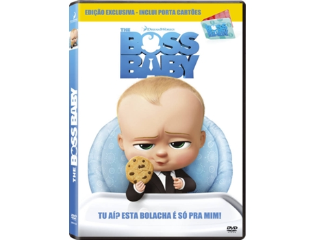 DVD + Porta Cartões The Boss Baby — De: Tom McGrath