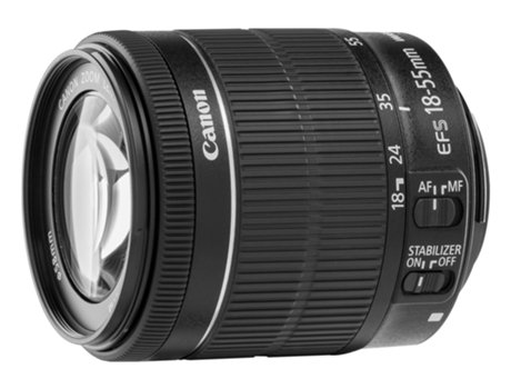 Objetiva CANON EF-S 18-55mm IS STM — Abertura: f/22-38