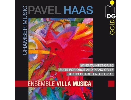 CD Pavel Haas - Ensemble Villa Musica