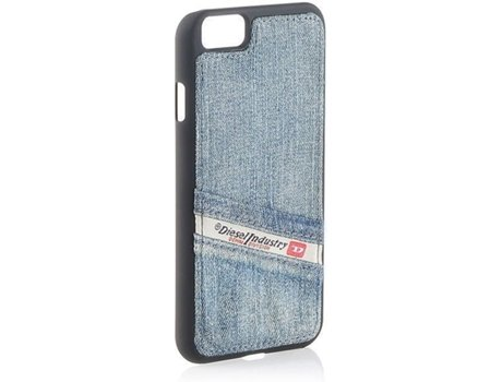 Capa DIESEL Moulded iPhone 6 /6S Blue Indigo — Compatibilidade: iPhone 6 /6S