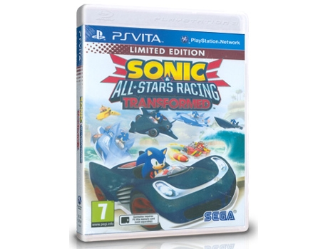 Jogo PS VITA Sonic & All Stars Racing Transformed — Desporto | Idade Mínima Recomendada: 7