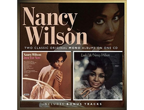 CD Nancy Wilson - Just for Now/Lush Life — Pop-Rock