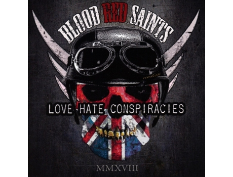 CD Blood Red Saints - Love Hate Conspiracies
