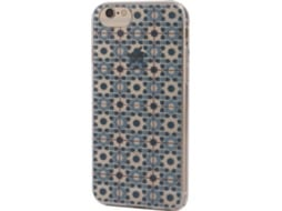 Capa KUNFT azulejos iPhone 6, 6s, 7, 8 Azul — Compatibilidade: iPhone 6, 6s, 7, 8