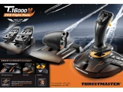 Joystick THRUSTMASTER 16000M FCS Flight Pack — Compatibilidade: PC