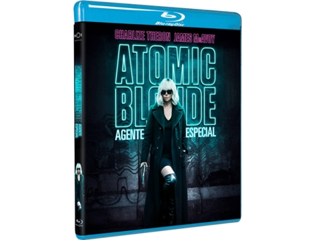 Blu-Ray Atomic Blonde - Agente Especial — De: David Leitch | Com: Charlize Theron, James McAvoy, John Goodman