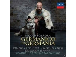 CD Nicola Porpora: Germanico In Germania — Jazz