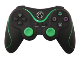 Comando WOXTER PS3 Bluethooth Verde — PS3 | Bluetooth