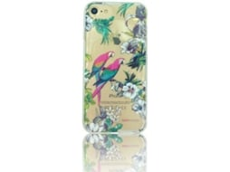 Capa HAPPY FRIDAY Macaw iPhone 7, 8 Azul — Compatibilidade: iPhone 7, 8