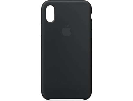 Capa iPhone X APPLE Silicone Preto — Compatibilidade: iPhone X