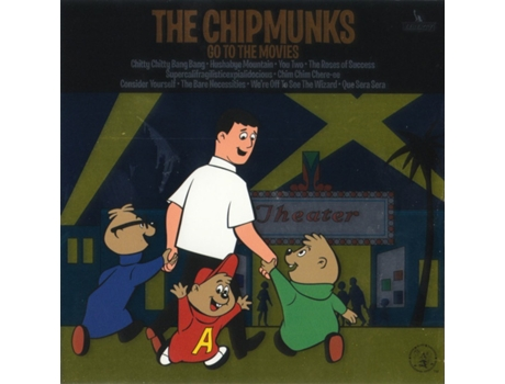 CD The Chipmunks - The Chipmunks Go To The Movies