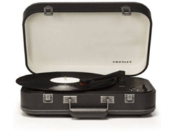 Gira-Discos BT CROSLEY Coupe Preto — Manual | 33 1/3 - 45 - 78 rpm