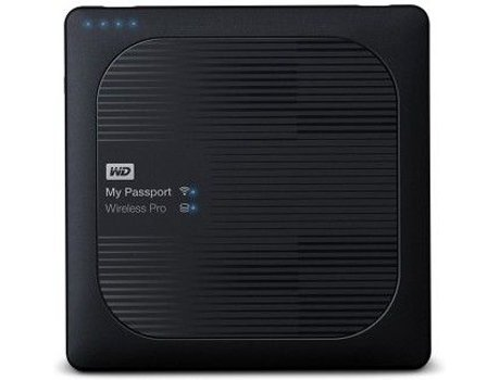 Disco Externo 2.5'' WD 2TB Passport Wireless Pro Preto — 2.5'' | 2 TB | USB 3.0