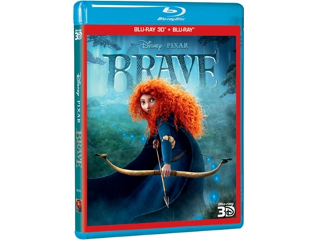 Blu-Ray 3D Brave Indomável — Do realizador Mark Andrews