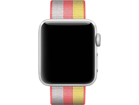 Bracelete APPLE 38 MM Red Woven Nylon — Bracelete | 38 MM