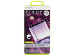 Película 3D MUVIT Curved Case Friendly Galaxy S7 Edge — Compatibilidade: Samsung Galaxy S7 Edge