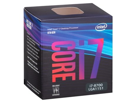 Processador INTEL-Core i7-8700 (Socket LGA1151 - Hexa-Core - 3.2 GHz) — Intel Core i7-8700 | Socket 1151