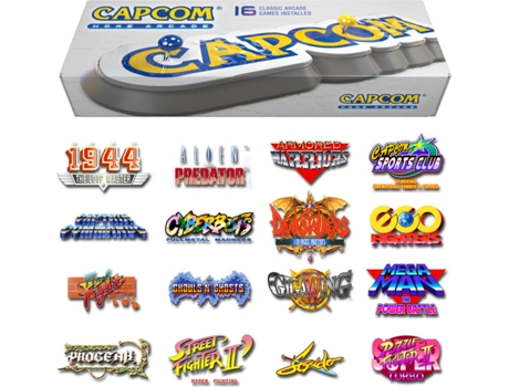 Consola Retro Capcom Home Arcade