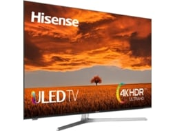 TV HISENSE 55U7A (LED - 55'' - 140 cm - 4K Ultra HD - Smart TV) — 55'' (140 cm)