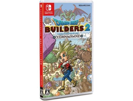Jogo Nintendo Switch Dragon Quest Builders 2 (RPG - M7)