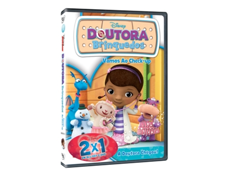 DVD Doutora Brinquedos - Vamos ao Check — Do realizador Chris Nee