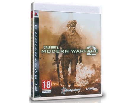 Jogo PS3 Call of Duty - Modern Warfare 2 — FPS | Idade Mínima Recomendada: 18