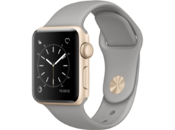 Apple Watch APPLE Series 2 38 mm Cinza — Wi-fi e Bluetooth | 273 mAh | iOS