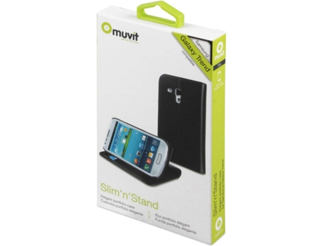 Capa Samsung Galaxy Trend S7560 MUVIT MUSNS0031 Preto