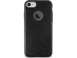 Capa PURO Shine Pocket iPhone 6, 6s, 7, 8 Preto — Compatibilidade: iPhone 6, 6s, 7, 8