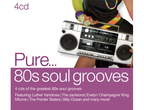 CD Various - Pure... '80s Soul Grooves — Pop-Rock