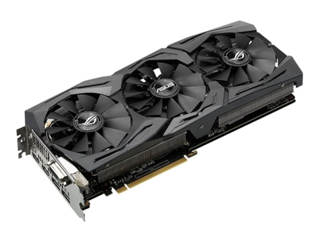 Placa Gráfica ASUS Rog Strix GeForce GTX 1060 OC (NVIDIA - 6 GB DDR5) — GeForce GTX 1060 | 1645 MHz | 6GB GDDR5
