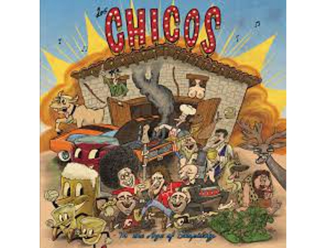 CD Los Chicos  - In The Age Of Stupidity