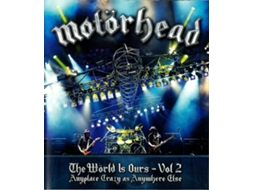 Blu-ray Motörhead - The Wörld Is Ours - Vol 2 (Anyplace Crazy As Anywhere Else)