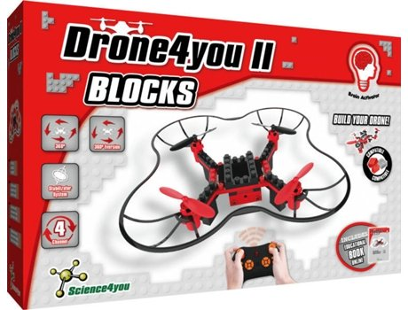 Drone SCIENCE4YOU Blocks — Drone4You