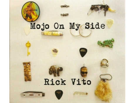 CD Rick Vito - Mojo On My Side