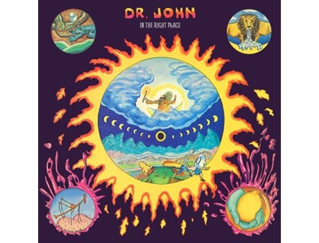Vinil Dr John - In The Right Place — Pop-Rock